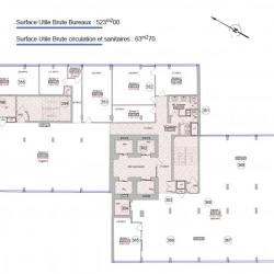 Location Bureau Nancy 1228 m²