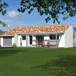 Maison  5 pièces + Terrain  612 m² Alba-la-Romaine