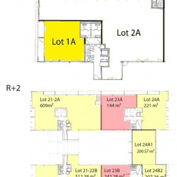 Location Bureau Pérols 346 m²