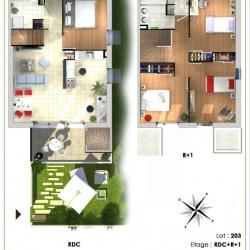 Achat maison neuve meyzieu 69 vente maisons neuves for Achat maison meyzieu