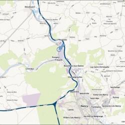Location Local d'activités Pompey 1975 m²
