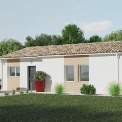 Maison  4 pièces + Terrain  1200 m² Jonzac