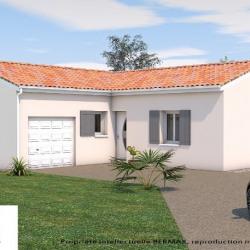 Maison  3 pièces + Terrain  812 m² Corme-Écluse