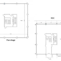 Location Bureau Mérignac 768 m²