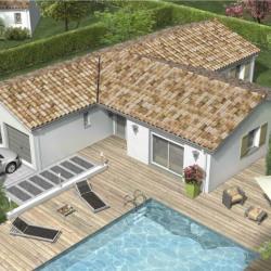 Maison  4 pièces + Terrain  900 m² Barcelonne-du-Gers