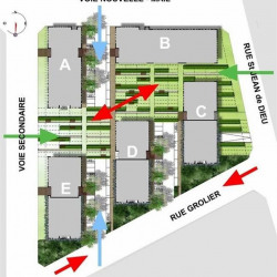 Location Bureau Lyon 7ème 9609 m²