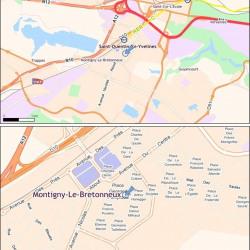 Location Bureau Montigny-le-Bretonneux 851 m²