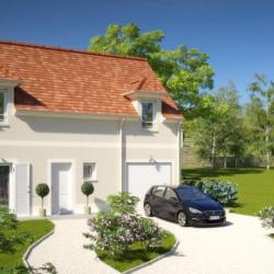 Maison  4 pièces + Terrain  469 m² Maincy