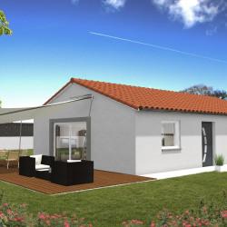 Maison  4 pièces + Terrain  1100 m² Servant
