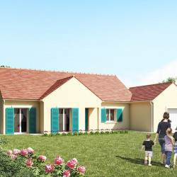 Maison  5 pièces + Terrain  700 m² Lorrez-le-Bocage-Préaux