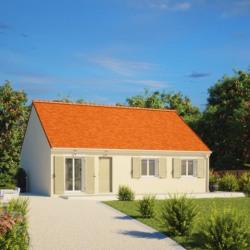 Maison  3 pièces + Terrain  850 m² Plessé