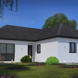 Maison  4 pièces + Terrain  1100 m² Molagnies