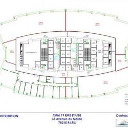 Location Bureau Paris 15ème 1067 m²