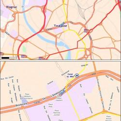 Location Bureau Toulouse 10854 m²