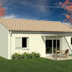 Maison  3 pièces + Terrain  565 m² Cherves-Richemont