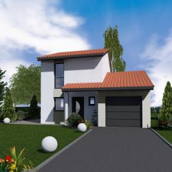 Maison  4 pièces + Terrain  200 m² Sain-Bel