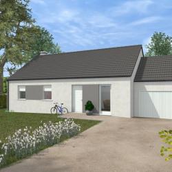 Maison  5 pièces + Terrain  746 m² Badecon-le-Pin
