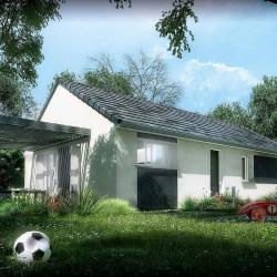 Maison  4 pièces + Terrain  380 m² Perrigny-Lès-Dijon