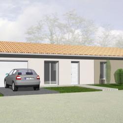 Maison  5 pièces + Terrain  420 m² Saint-André-de-Cubzac