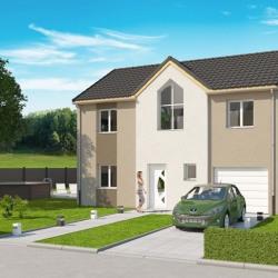 Maison  5 pièces + Terrain  500 m² Cheminot