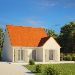 Maison  3 pièces + Terrain  414 m² Frénouville