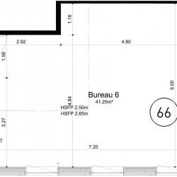 Vente Bureau Ifs 41 m²