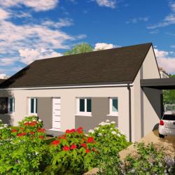 Maison  5 pièces + Terrain   m² Chouzy-sur-Cisse