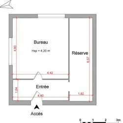 Location Local commercial Vienne 40,37 m²
