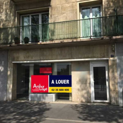 Location Bureau Rouen 58 m²