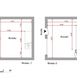 Location Local commercial Sallanches 54,2 m²