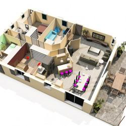 Maison  5 pièces + Terrain  850 m² Les Mées