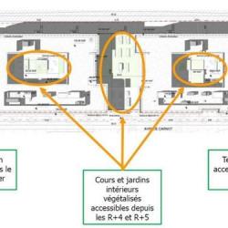 Location Bureau Massy 22300 m²