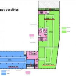 Location Bureau Lyon 9ème 3543 m²