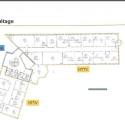 Location Bureau Meylan 654 m²