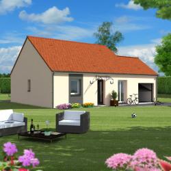 Maison  4 pièces + Terrain  747 m² Bonneval