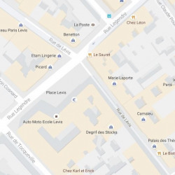 Cession de bail Local commercial Paris 17ème 38 m²