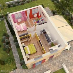 Maison  5 pièces + Terrain  200 m² Montfermeil