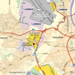 Location Bureau Colomiers 2860 m²