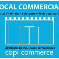 Vente Local commercial Varennes-sur-Allier 150 m²