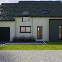 Maison  5 pièces + Terrain  773 m² Beaufay