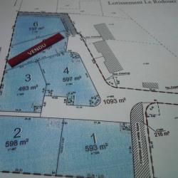 Vente Terrain Trédion 493 m²