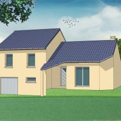 Maison  5 pièces + Terrain  726 m² Mouzon