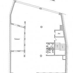 Location Bureau Paris 13ème 231 m²