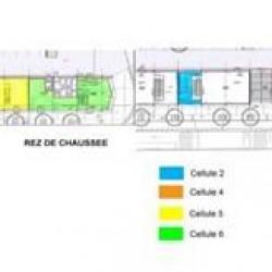 Location Bureau Metz 994 m²