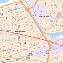 Location Bureau Villeurbanne 1879 m²