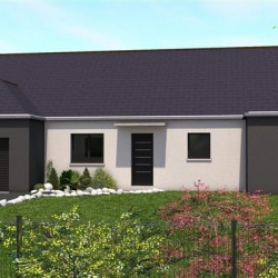 Maison  4 pièces + Terrain  900 m² Guipry