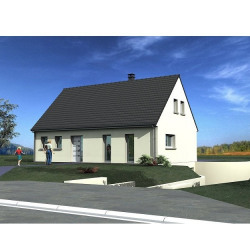 Maison  4 pièces + Terrain  1300 m² Wailly-Beaucamp
