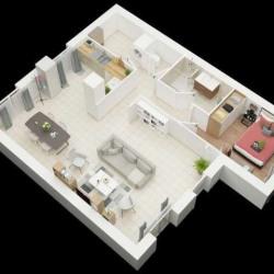 Maison  2 pièces + Terrain  340 m² Aizenay