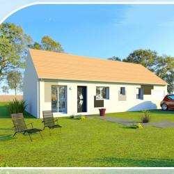 Maison  4 pièces + Terrain  524 m² Saint-Père-sur-Loire