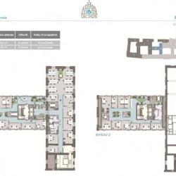 Location Bureau Lyon 2ème 11017 m²